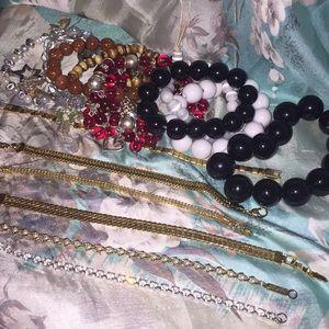Various bracelets lot